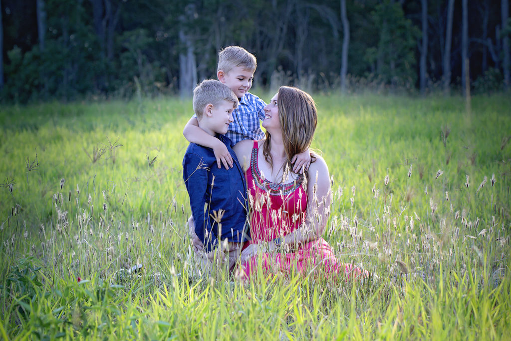 Family portrait outdoor session
