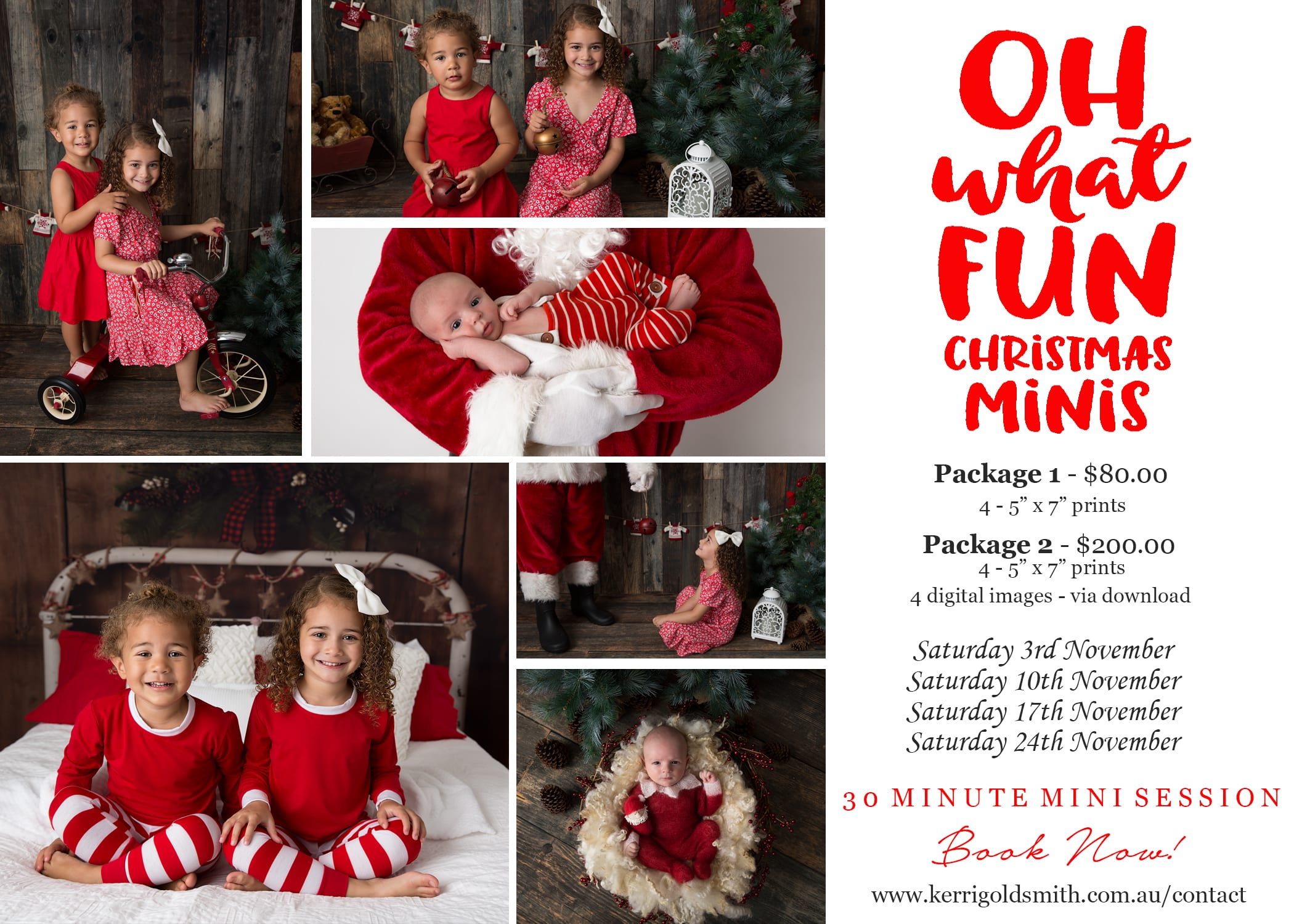 Christmas Mini Sessions.Christmas Mini Sessions Kerri Goldsmith Photography