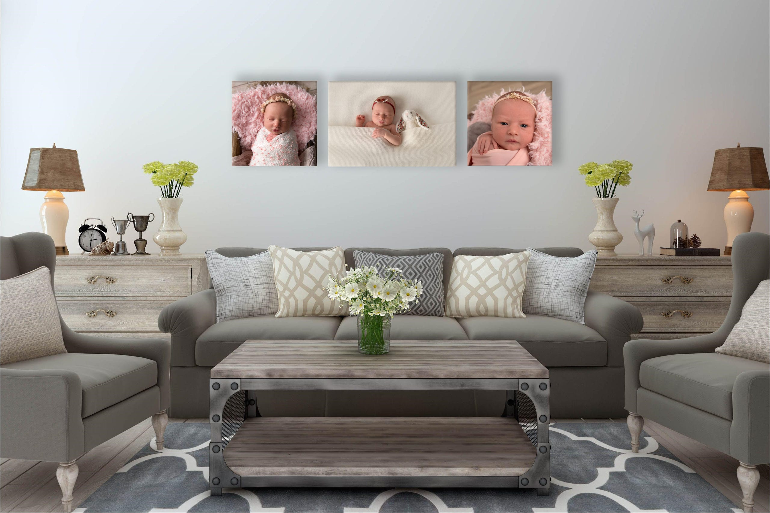 Evie Collection - Canvas Prints
