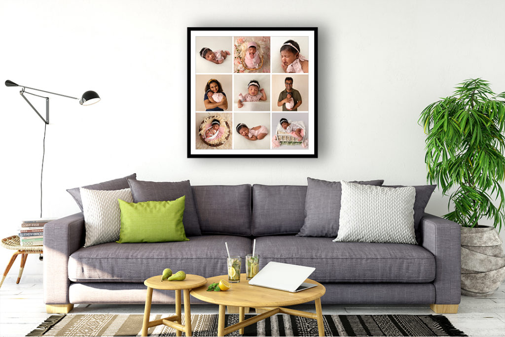 ANNIE - 9 image framed print