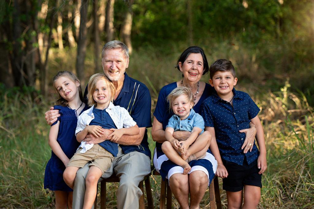 Grandparents & grandchildren session